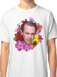 Steve Buscemi - Floral Classic T-Shirt
