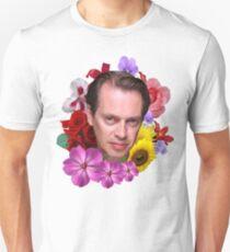 Steve Buscemi - Floral T-Shirt