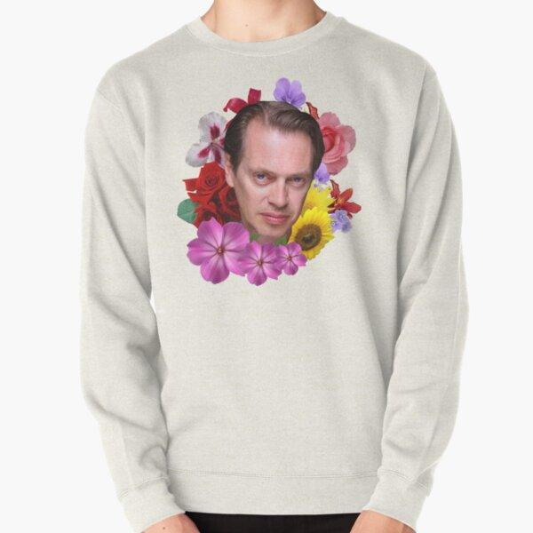 Steve Buscemi - Floral Pullover Sweatshirt