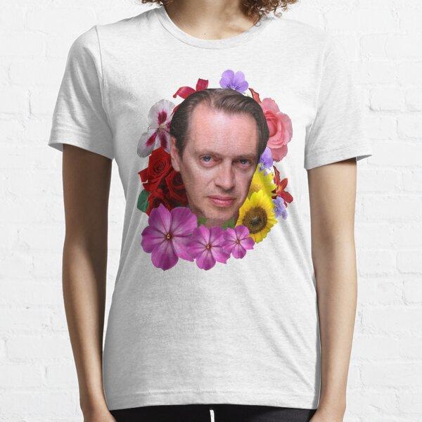 Steve Buscemi - Floral Essential T-Shirt