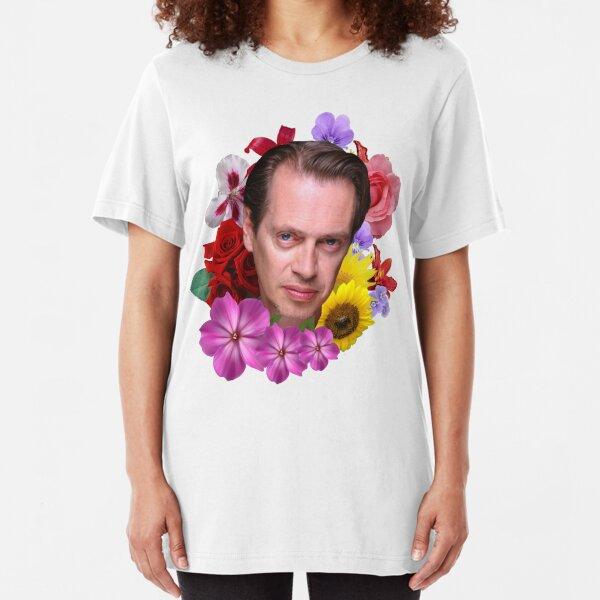 Steve Buscemi - Floral Slim Fit T-Shirt