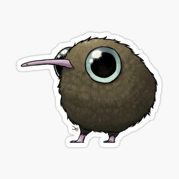 Cute Fat Kiwi Sticker