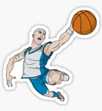 Basketball player pose Sticker