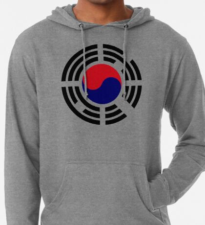 Korean Patriot Flag Series  Lightweight Hoodie
