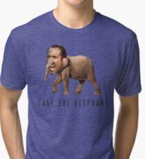 Nicolas Cage The Elephant Tri-blend T-Shirt