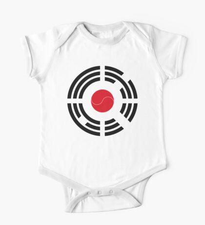 Korean Japanese Multinational Patriot Flag Series Kids Clothes