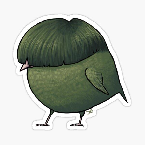 Cute Fat Finch Sticker