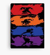 Teenage Mutant Ninja Turtles - New - Official Canvas Print