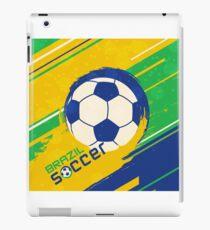 Brazil soccer world cup background iPad Case/Skin