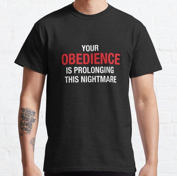 Tu obediencia Camiseta clásica