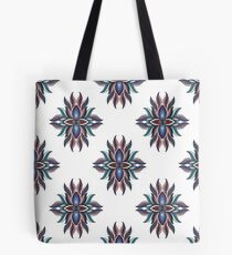 Abstract symmetric pattern. Vector illustration print Tote Bag
