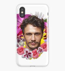 James Franco - Floral iPhone Case/Skin
