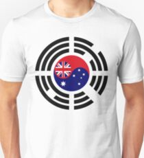 Korean Australian Multinational Patriot Flag Series T-Shirt