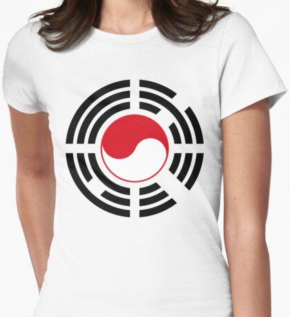 Korean Indonesian Multinational Patriot Flag Series T-Shirt
