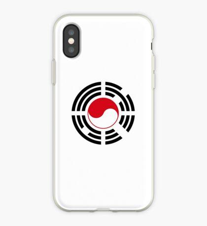 Korean Indonesian Multinational Patriot Flag Series iPhone Case