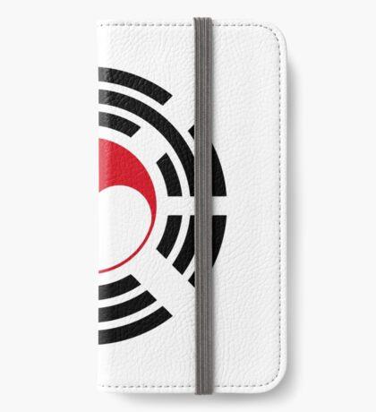 Korean Indonesian Multinational Patriot Flag Series iPhone Wallet