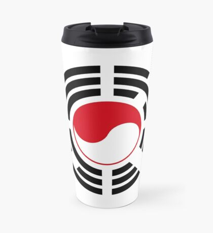 Korean Indonesian Multinational Patriot Flag Series Travel Mug
