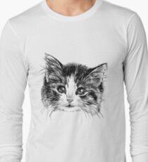Cartoon purple cat T-Shirt