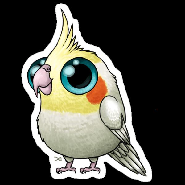 Cute Fat Cockatiel by Demmy