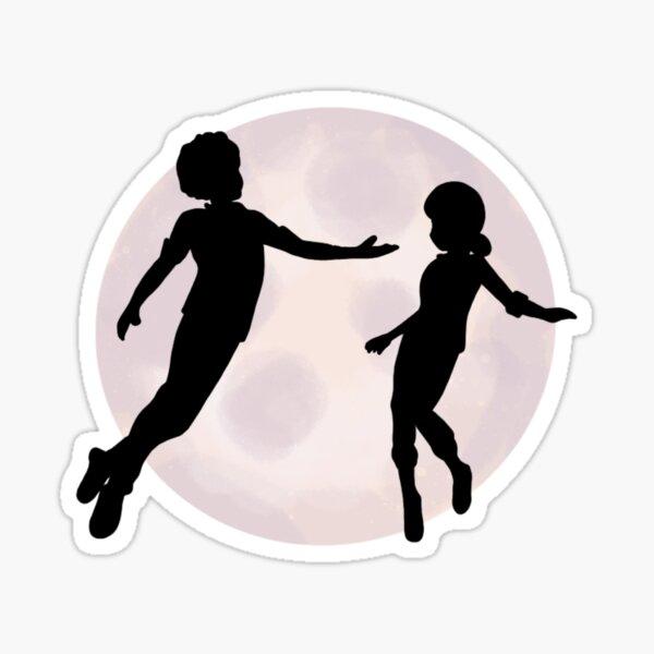 Danse de la lune Sticker