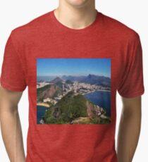 Beautiful Rio de Janeiro mountains Tri-blend T-Shirt