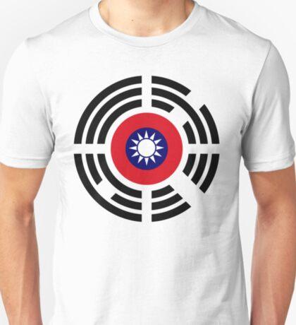 Korean Taiwanese Multinational Patriot Flag Series T-Shirt