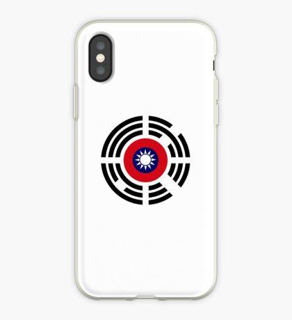 Korean Taiwanese Multinational Patriot Flag Series iPhone Case