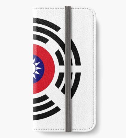 Korean Taiwanese Multinational Patriot Flag Series iPhone Wallet