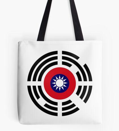 Korean Taiwanese Multinational Patriot Flag Series Tote Bag