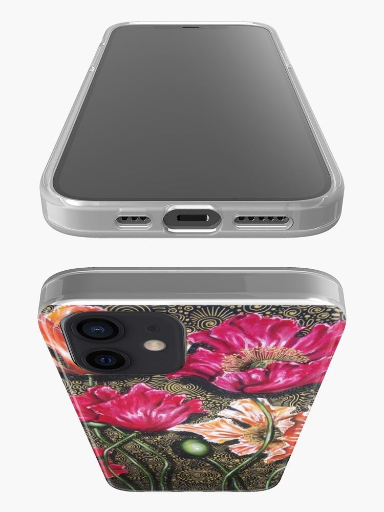 Alternate view of Iceland Poppy Mix iPhone Case & Cover