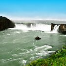 Goðafoss in Iceland by Stephen Frost