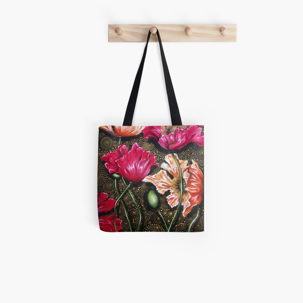 Iceland Poppy Mix Tote Bag