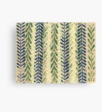 Vine Pattern - Nature Canvas Print