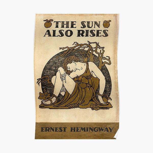 Ernest Hemmingway - The Sun Also Rises Poster