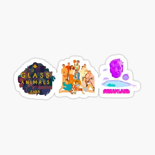 glass animals evolution  Sticker