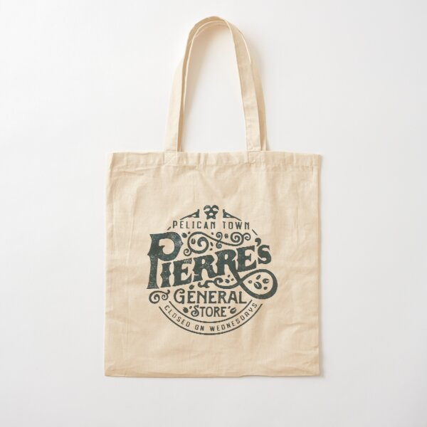 Pierres General Store Logo Cotton Tote Bag