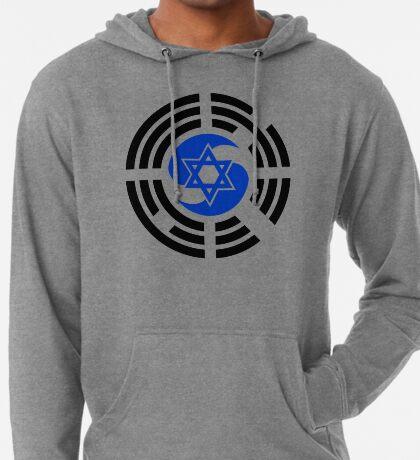 Korean Israeli Multinational Patriot Flag Series Lightweight Hoodie