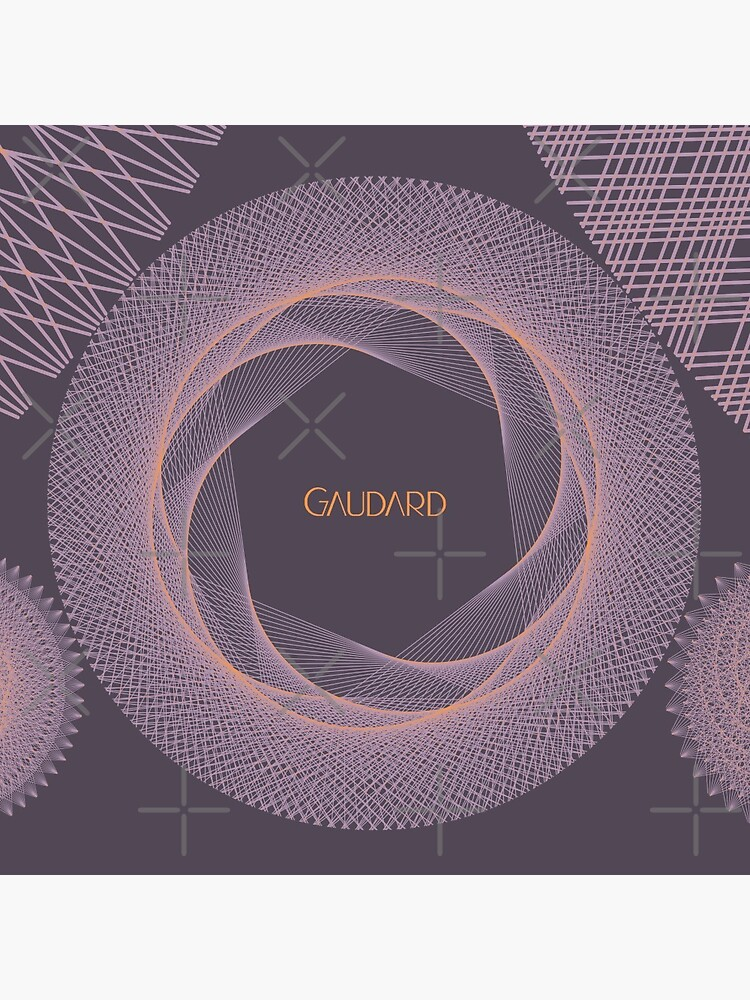Contemporary Mandalas Track | Slow Down | Sunset by AtelierGaudard