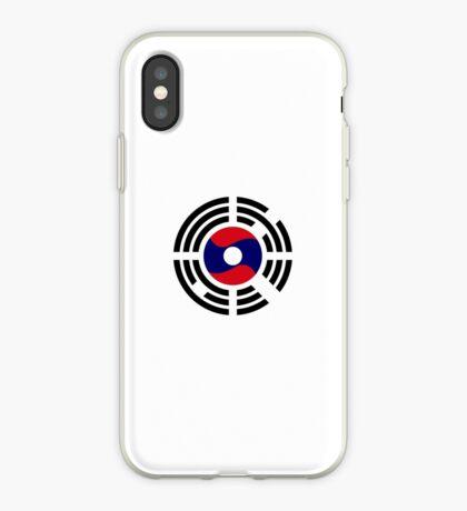 Korean Laotian Multinational Patriot Flag Series iPhone Case