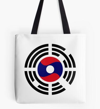 Korean Laotian Multinational Patriot Flag Series Tote Bag