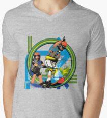 Water skiers Men's V-Neck T-Shirt