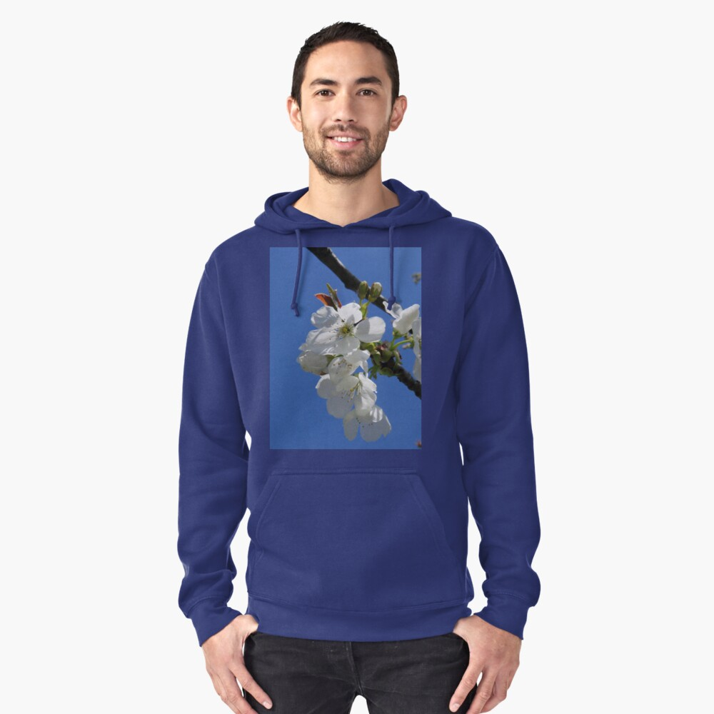 Cherry blossoms Pullover Hoodie Front