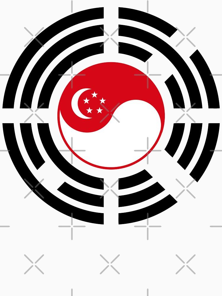 Korean Singapore Multinational Patriot Flag Series by carbonfibreme