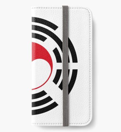 Korean Singapore Multinational Patriot Flag Series iPhone Wallet
