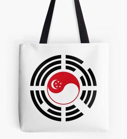 Korean Singapore Multinational Patriot Flag Series Tote Bag