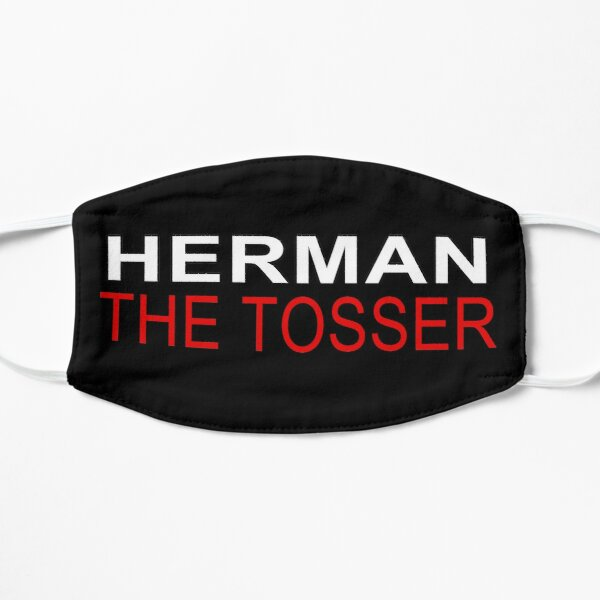 The Day Today Herman  Flat Mask