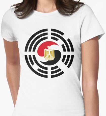 Korean Egyptian Multinational Patriot Flag Series T-Shirt