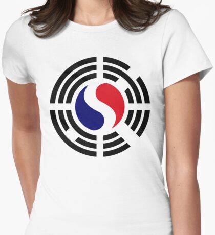 Korean French Multinational Patriot Flag Series T-Shirt