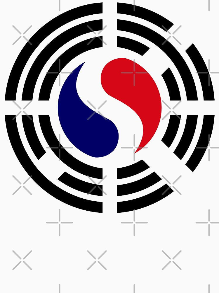 Korean French Multinational Patriot Flag Series by carbonfibreme