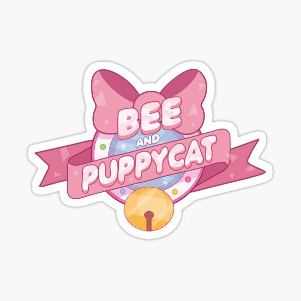 Bee and Puppycat Logo Sticker